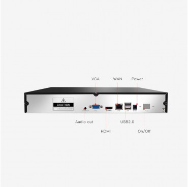 Мрежов видео рекордер (NVR) 9-канален