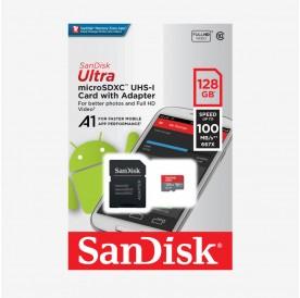 Карта памет SANDISK MICRO SD ULTRA 128GB UHS-I КЛАС 10